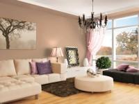 Luksusowe, pałacowe wnętrze i farby z palety natury