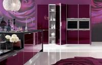 Wnętrza Inspiracje  w stylu glamur – kuchnia ?