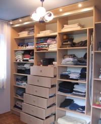 kompleksowa zabudowa szafy wnękowej szuflady półki, drążki tags[szfa,garderoba]