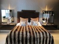 sypialnia w stylu mysliwskim