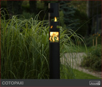 Biokominek jako lampa ogrodowa – Twój ogród nabiera niepowtarzalnego charakteru. Takie ośw ...