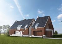 LK&1196 to projekt domu jednorodzinnego stworzony na potrzeby konkursu na opracowanie projek ...