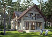 LK&731 niewielki (139 m2) dom parterowy z poddaszem użytkowym http://lk-projekt.pl/lkand731- ...