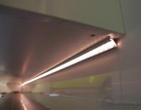 Podświetlenie mebli i wanny w łazience taśma led profil aluminiowy do taśmy led