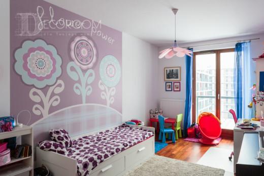 Mieszkanie w stylu nowoczesnym – pokój dziecka www.decoroom.eu