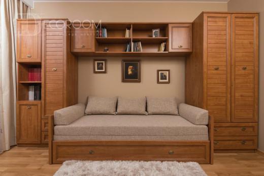 Mieszkanie w stylu klasycznym – sypialnia (www.decoroom.eu)