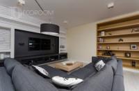 Mieszkanie w stylu industrialnym – salon www.decoroom.eu