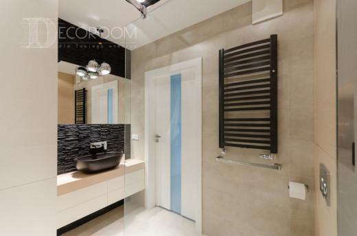 Mieszkanie w stylu industrialnym – łazienka www.decoroom.eu