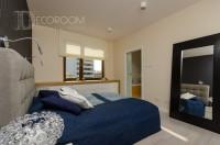 Mieszkanie w stylu industrialnym – sypialnia www.decoroom.eu