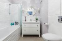 Mieszkanie w stylu skandynawskim – łazienka