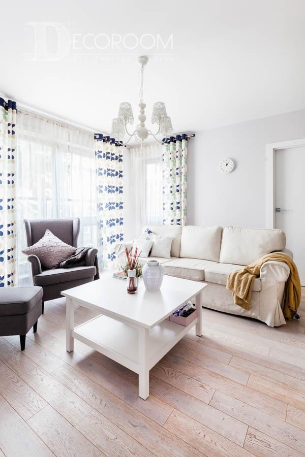 Mieszkanie w stylu skandynawskim – salon