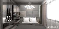projekt sypialni | FIRST IMPRESSIONS. Apartament