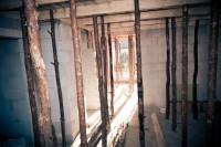 deskowanie i stemplowanie szalunku stropu