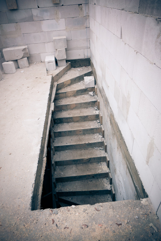 betonowe schody zabiegowe -  Fotobudowa