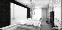 nowoczesna sypialnia | LOOK #11. Wnętrza apartamentu