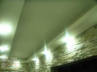 Sufit podwieszany wraz z oświetleniem LED