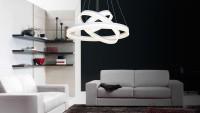 Lampa wisząca LED Ring III. Najmocniejsza lampa z całej serii tych lamp. Przeznaczona do oświetl ...