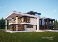 LK&1235 to dom w nowoczesnym stylu.  Więcej tu: http://lk-projekt.pl/lkand1235-produkt-9554.html