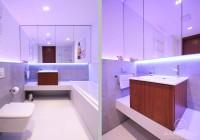 Łazienka w nowoczesnym świetle