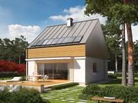DOM.PL™ – Projekt domu AC E3 ECONOMIC (wersja B) CE – DOM AF2-76 – gotowy proj ...