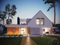 DOM.PL™ – Projekt domu AC Neo G1 ENERGO CE – DOM AF6-80 – gotowy projekt domu
