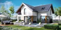 DOM.PL™ – Projekt domu CPT Koncept 18 CE – DOM CP1-18 – gotowy projekt domu