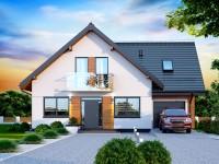 DOM.PL™ – Projekt domu DN GALILEA BIS CE – DOM PC1-65 – gotowy projekt domu