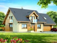 DOM.PL™ – Projekt domu DN KENDRA 2M CE – DOM PC1-28 – gotowy projekt domu