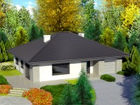 DOM.PL™ – Projekt domu Dom przy Słonecznej 5 CE – DOM EB3-40 – gotowy projekt  ...