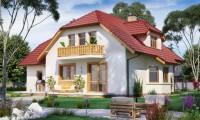 DOM.PL™ – Projekt domu PWD BW-10 wariant CE – DOM PW1-20 – gotowy projekt domu