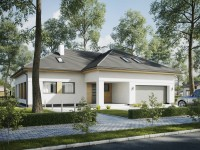 DOM.PL™ – Projekt domu SD  Trentino C – DOM SD2-03 – gotowy projekt domu
