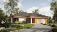 DOM.PL™ – Projekt domu SZ5 Z281 CE – DOM OZ6-99 – gotowy projekt domu