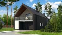 DOM.PL™ – Projekt domu SZ5 Z393 CE – DOM SZ4-42 – gotowy projekt domu