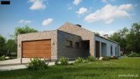 DOM.PL™ – Projekt domu SZ5 Z314 – DOM SZ1-10 – gotowy projekt domu  Parterowy  ...