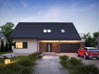 DOM.PL™ – Projekt domu TP Markus CE – DOM TP1-97 – gotowy projekt domu