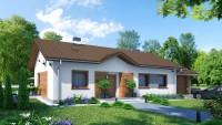 DOM.PL™ – Projekt domu ZA Dom w Luizjanie 5 CE – DOM ZA1-81 – gotowy projekt d ...
