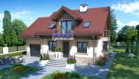 DOM.PL™ – Projekt domu ZA Dom w OREGONIE 3 CE – DOM ZA1-76 – gotowy projekt domu