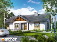 Projekt domu Dom w leszczynowcach 2 To propozycja dla inwestorów stawiających na połączenie  wyd ...