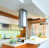 Aranżacja kuchni z sufitem podwieszanym