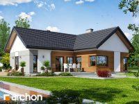 Projekt domu Dom w galach z oferty ARCHON+ to idealny projekt dla wszystkich, którzy szukają fun ...