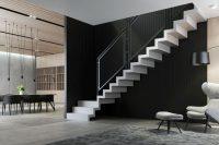 Trzecim materiałem, który jest widoczny w modelach balustrad i poręczy w 2017 r. jest stal, koja ...