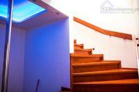 Wykończenie schodów betonowych, wykończenie balkonu. #Schody zabiegowe