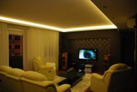 światło w salonie obwód pomieszczenia zastosowanie taśmy led