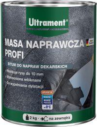 MASA NAPRAWCZA PROFI niemieckiej marki Ultrament to gotowa do użycia, nieprzepuszczająca wody, w ...