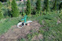 Studnia chłonna pompa ręczna abisynka wykorzystanie deszczówki do podlewania ogrodu