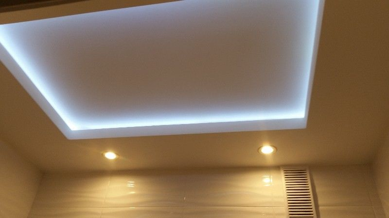 Sufit podwieszany z ledami