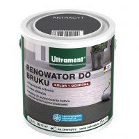 Renowator do bruku niemieckiej marki Ultrament to specjalistyczna farba przeznaczona do odświeża ...
