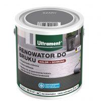 Renowator do bruku od Ultrament dostępny jest w trzech wariantach kolorystycznych – szarym, czer ...
