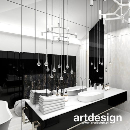 Elegancka, ponadczasowa, dopracowana w detalach łazienka. MAKE UP YOUR MIND | Wnętrza domu