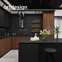 Lekko industrialnie, ale elegancko :) Projekt kuchni w apartamencie. SPIRIT OF ADVENTURE | Wnętr ...